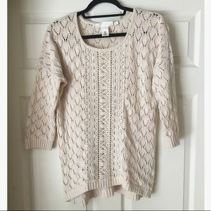 H&M high low sweater SIZE M